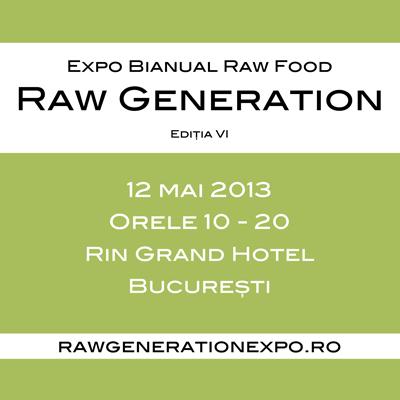 Va asteptam pe 12 mai la Raw Generation Expo