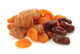 Fructele uscate, sursa excelenta de nutrienti si fibre