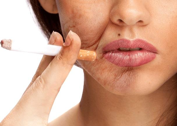 Ce efecte daunatoare are fumatul asupra pielii