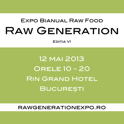 Invitatie la Raw Generation Expo, 12 mai 2013