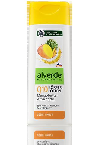 Alverde - Lotiune de corp cu extract de mango, anghinare si Q10