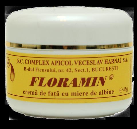 Floramin - Crema de fata cu miere