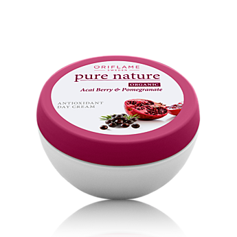 Oriflame - Pure Nature Organic Acai Berry & Pomegrate Antioxidant Day Cream