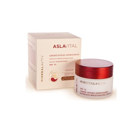 AslaVital Mineral Activ - Crema intens hidratanta SPF 15