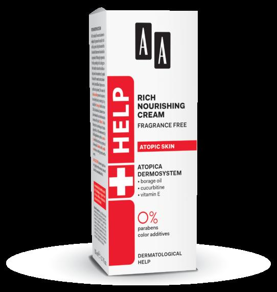 AA Help - Rich nourishing cream Crema hranitoare