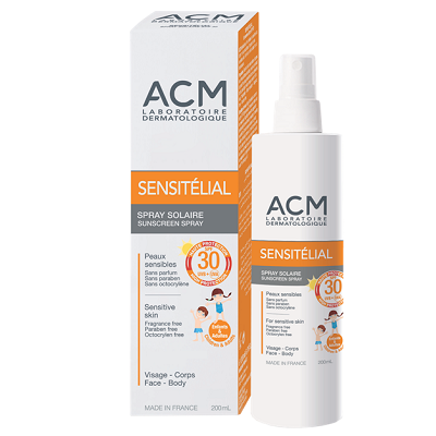 ACM - Sensitelial Spray protectie solara copii, SPF 30