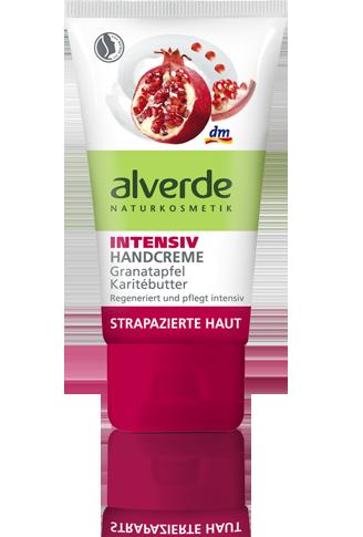 Alverde - Crema de maini cu rodie
