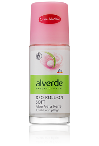 Alverde - Deo Roll-on Soft Aloe Vera Perle