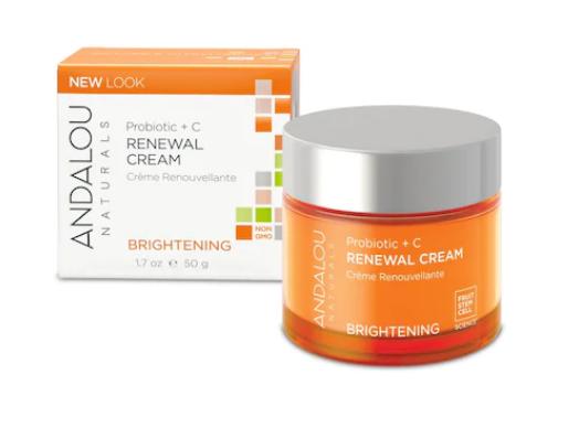 Andalou Naturals - Brightening Crema Hidratanta de Zi pentru Luminozitate Ten Normal sau Mixt
