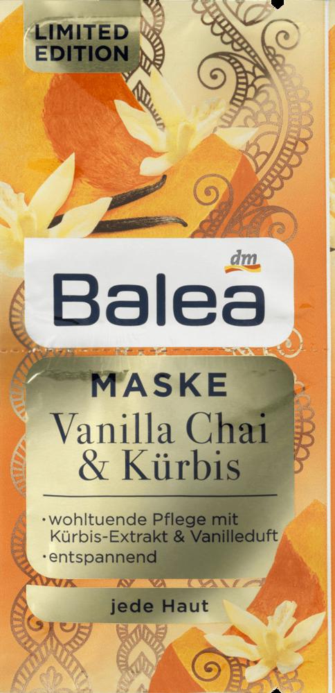 Balea - Masca fata vanilie chai si dovleac
