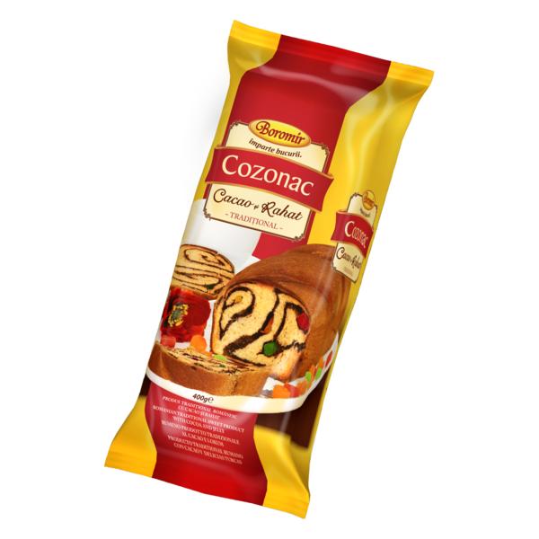 Boromir - Cozonac cu cacao si rahat