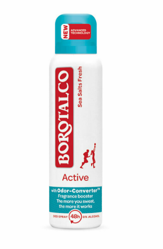 Borotalco - Sea salts fresh active Spray antiperspirant