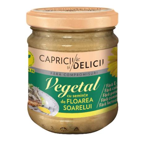 Capricii si Delicii - Pate vegetal cu seminte
