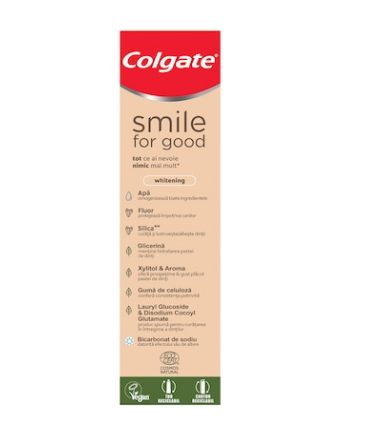 Colgate - Smile for good white Pasta de dinti