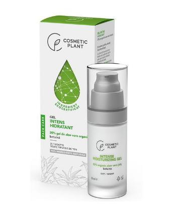 Cosmetic Plant - Gel intens hidratant cu 20% gel de aloe vera organic & betaina
