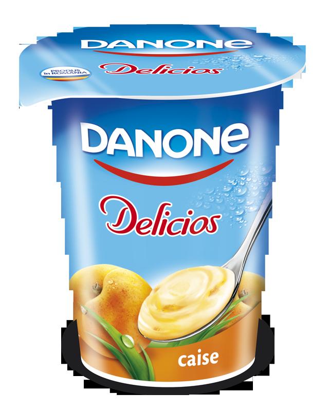 Danone - Delicios Iaurt cu caise
