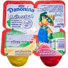 Danonino - Branzica de vaci cu piure de fructe