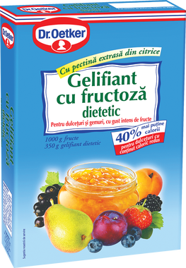 Dr. Oetker - Gelifiant cu fructoza, dietetic