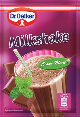 Dr. Oetker - Milkshake cu gust de cioco-menta