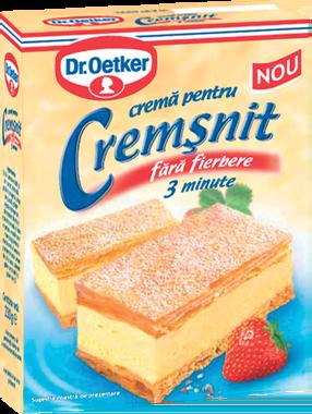 Dr. Oetker - Mix pentru crema cremsnit, fara fierbere