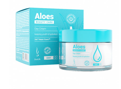 DuoLife Beauty Care - Aloes Day Cream 50 ml