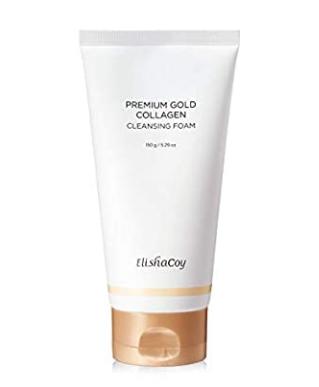 Elisha Coy - Premium Gold Collagen Spuma de curatare