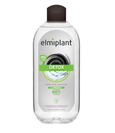 Elmiplant - DETOX Lotiune micelara cu carbune