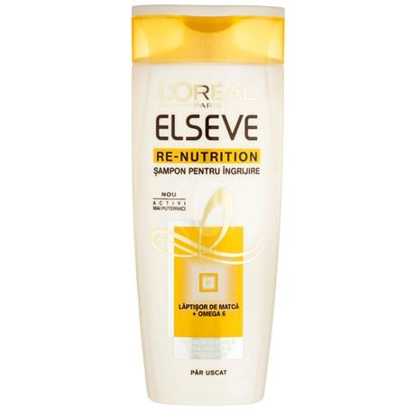 Elseve - Re-nutrition Sampon pentru ingrijirea parului uscat