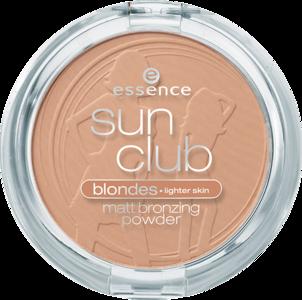 Essence - Sun Club Pudra bronzanta mata pentru blonde / brunete