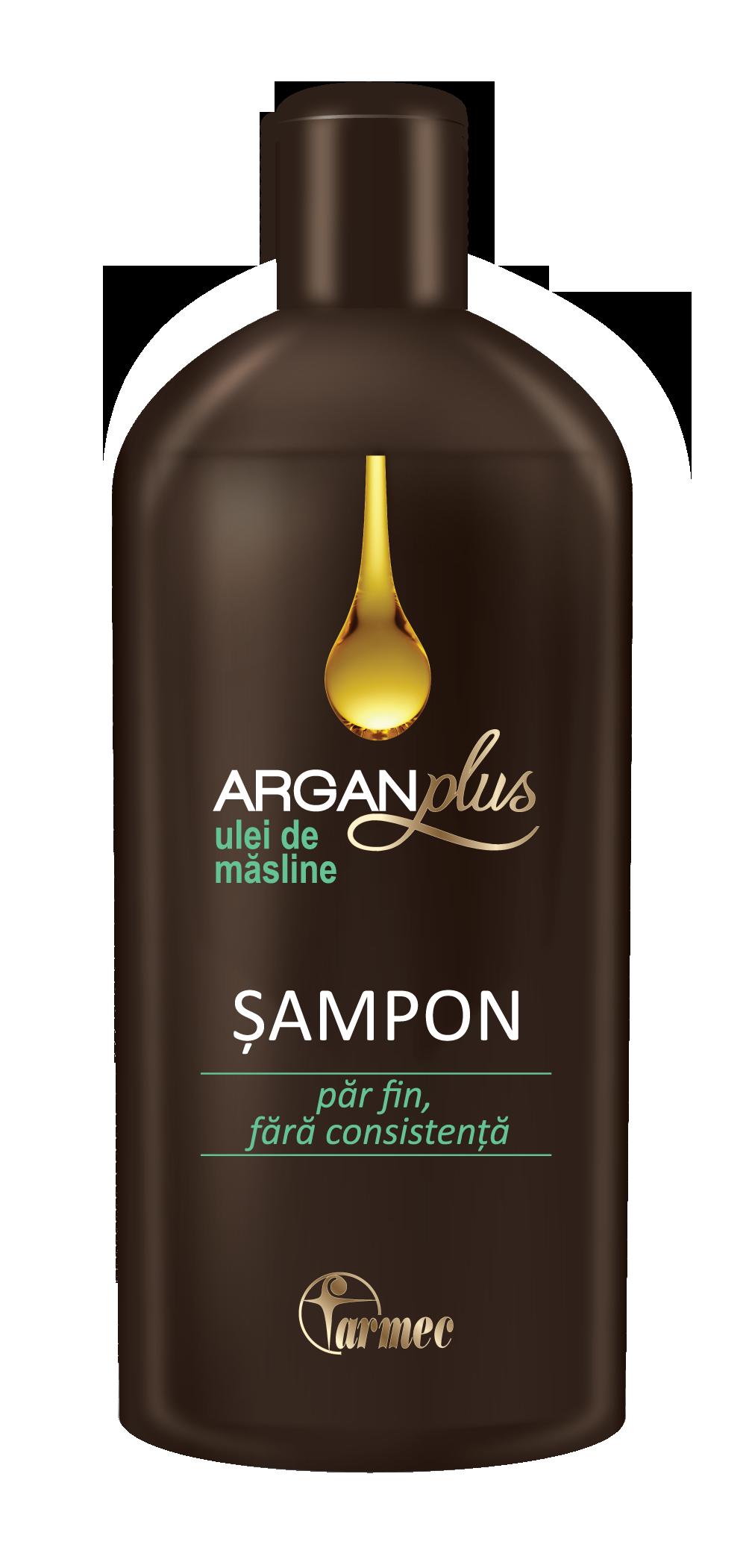 Farmec- ARGAN Plus Sampon cu ulei de masline