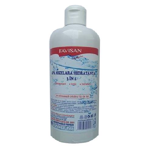 Favisan - Apa micelara hidratanta 3 in 1
