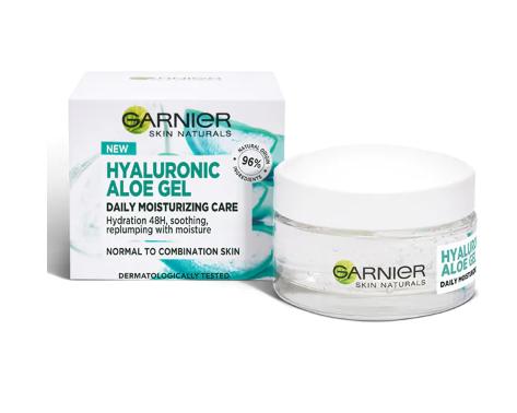 Garnier - Skin Naturals Gel hidratant cu acid hialuronic si aloe vera