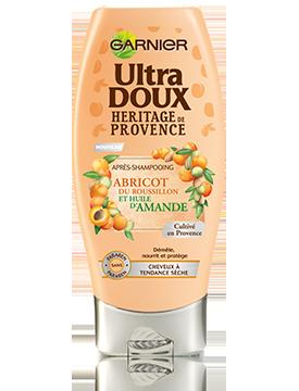 Garnier - Ultra Doux Heritage de Provence Balsam cu ulei de migdale si caise de Roussillon