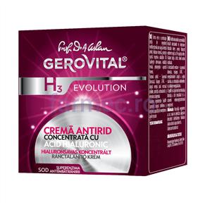 Gerovital - Crema antirid cu Acid Hialuronic concentratie 3%