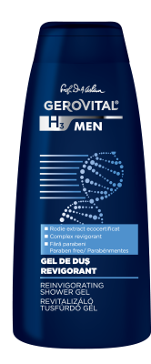 Gerovital H3 Men - Gel de dus revigorant