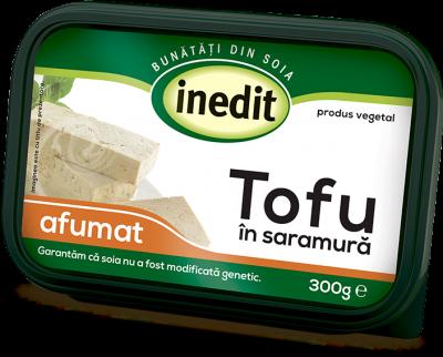 Inedit - Tofu in saramura afumat