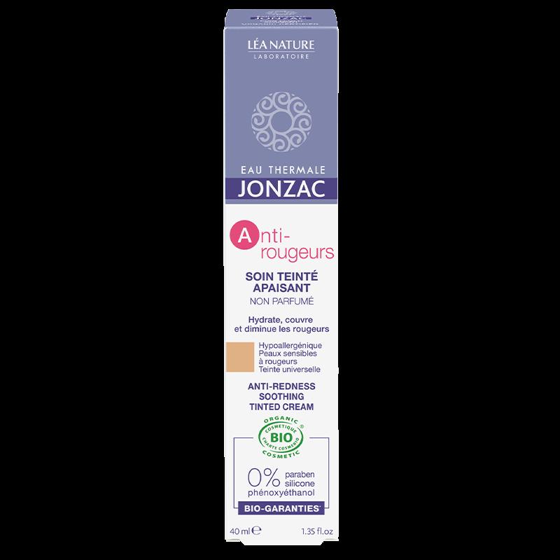 Jonzac - Crema calmanta colorata anti-roseata cu apa termala
