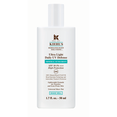 Kiehls - Ultra Light Daily UV Defense Mineral Sunscreen