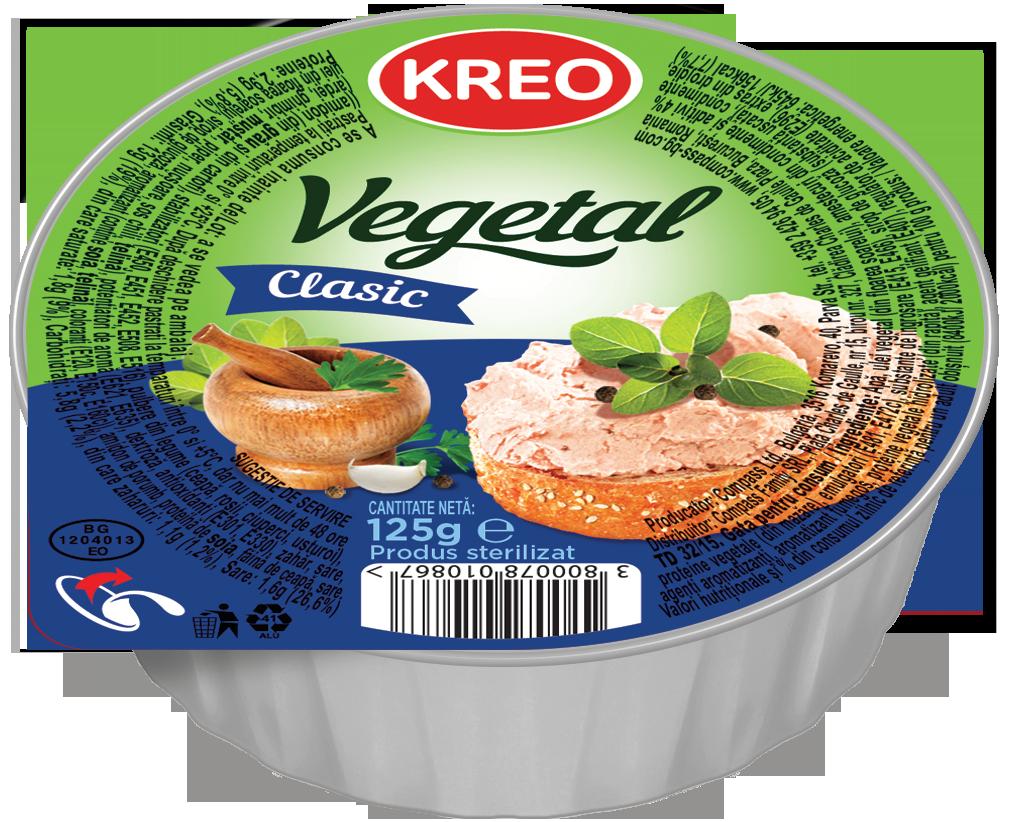 KREO - Pate vegetal clasic