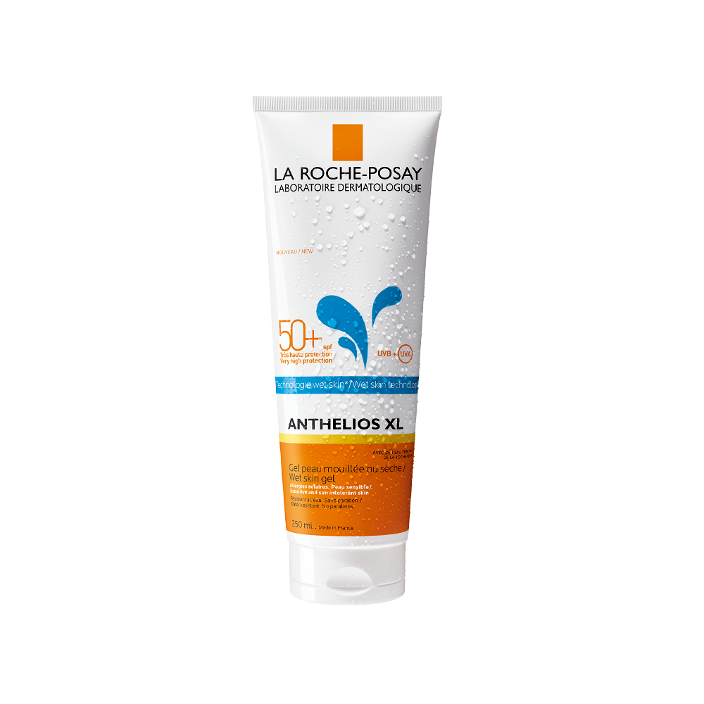 La Roche Posay - Anthelios Wet Skin Dermo Pediatrics SPF50+ Gel fluid cu aplicare pe pielea umeda sau uscata