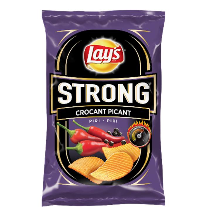 Lays - Strong Piri Piri Chipsuri picante