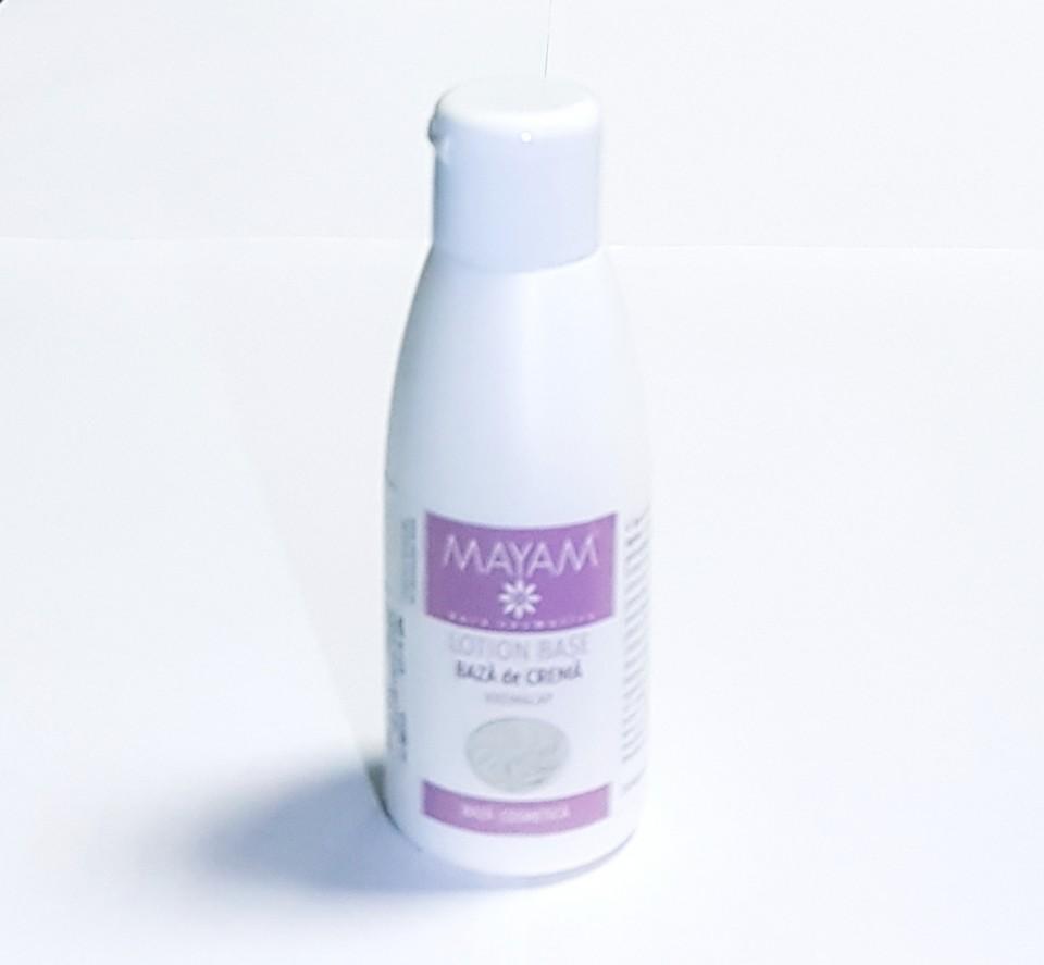 Mayam - Baza de crema naturala