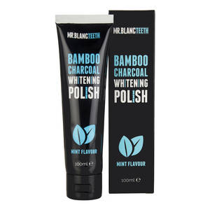 Mr. Blanc - Bamboo Charcoal Whitening Polish
