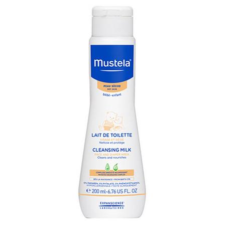 Mustela - Lapte de curatare pentru bebelusi