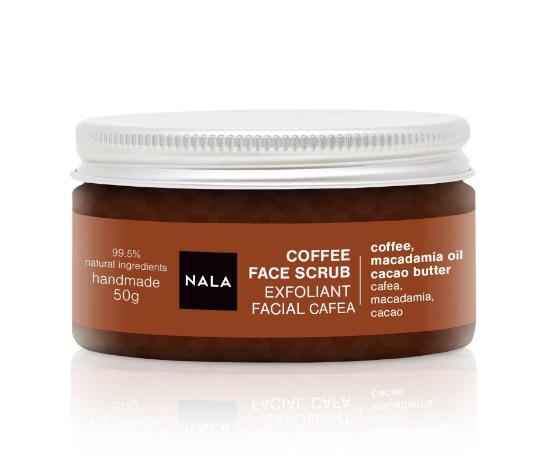 Nala - Exfoliant facial cu cafea