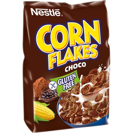 Nestle - Corn Flakes Fulgi porumb cu gust de ciocolata