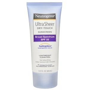 Neutrogena - Ultra Sheer dry touch Broad Spectrum 100+