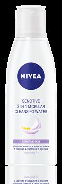 Nivea - Apa micelara 3in1 pentru pielea sensibila