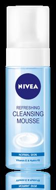 Nivea Aqua Effect - Spuma de curatare revigoranta pentru ten normal si mixt
