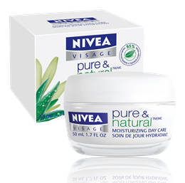 Nivea Pure & Natural - Moisturizing day care